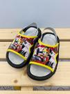 【震撼精品百貨】Micky Mouse_米奇/米妮 ~台灣製正版兒童迪士尼拖鞋-黑米奇(13~18號)#19369
