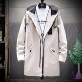 外套 外套男士冬季2019新款中長款棉襖冬裝ins潮男裝加絨加厚羽絨棉服