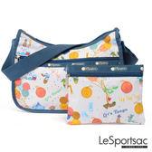 LeSportsac - Standard側背水餃包/流浪包-附化妝包 (生日派對) 7520P F132