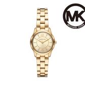 Michael Kors 簡約質感金腕錶 MK6590