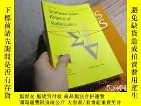 二手書博民逛書店southeast罕見asian bulletin of mat