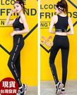 依芝鎂-B448瑜珈服姿流短袖褲裝路跑健身服長褲M-3XL加大正品,三件式整套售價1400元