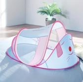 蚊帳 嬰兒床蚊帳幼兒童寶寶文防蚊罩小孩可摺疊單獨床上神器遮光床 莫妮卡小屋YXS