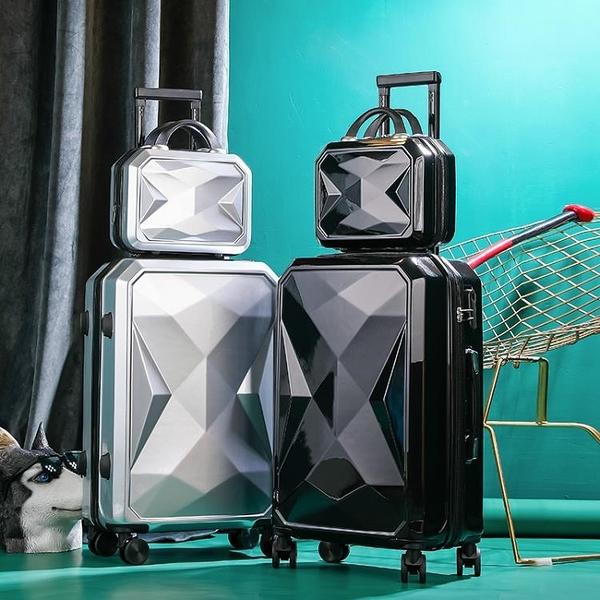 旅行箱行李箱網紅拉桿箱20女男學生24密碼皮箱子母箱26大容量28寸-金牛賀歲