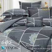 60支天絲床包兩用被四件式 雙人5x6.2尺 懸念 100%頂級天絲 萊賽爾 附正天絲吊牌 BEST寢飾