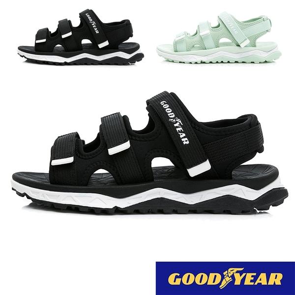 女款 GOODYEAR固特異12670 輕量舒適Q彈腳床彈力 運動涼鞋 休閒涼鞋 59鞋廊