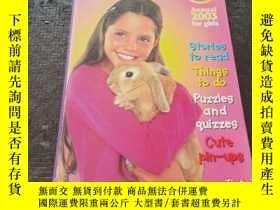 二手書博民逛書店MANDY罕見ANNUAL 2003 FOR GIRLS 英文原版書 Y181138 MANDY MANDY