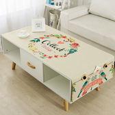 【雙11】棉麻布藝茶幾桌布長方形客廳桌布簡約臺布蓋布防塵罩免300