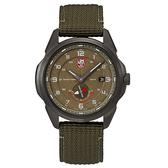 LUMINOX 雷明時ATACAMA ADVENTURER 探險家系列腕錶 – 橄欖綠 / 42mm A1767