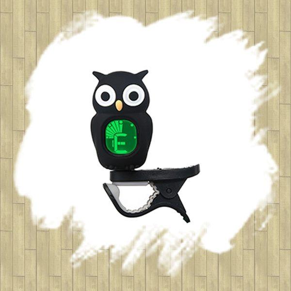 【非凡樂器】SWIFF SFAO-B7 貓頭鷹造型夾式調音器 / 黑色