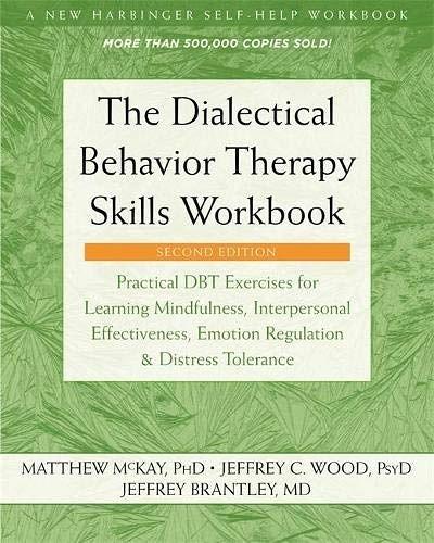 [2美國直購] Amazon 2021 暢銷排行榜 Practical DBT Exercises for Learning Mindfulness, Interpersonal
