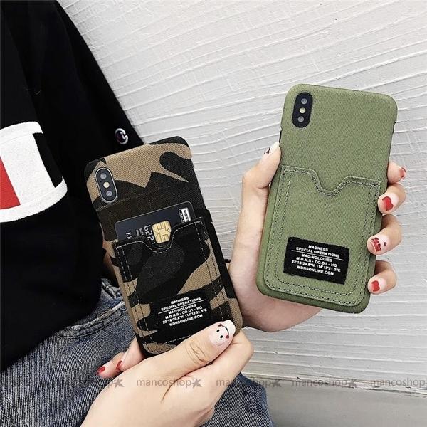 潮牌迷彩布紋殼 OPPO R17 pro R15 R11 R11S R9 R9S plus 手機殼 零錢卡夾包 保護殼保護套 全包邊硬殼