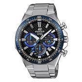 CASIO EDIFICE  三眼聚焦太陽能賽車腕錶-EQS-800CDB-1BVUDF