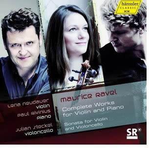 拉威爾:小提琴與鋼琴作品全集及寫給小提琴與大提琴的奏鳴曲 CD(