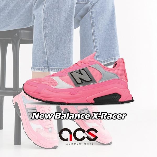 【六折特賣】New Balance 休閒鞋 X-Racer 粉紅 灰 女鞋 運動鞋 【ACS】 WSXRCHFAB