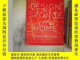 二手書博民逛書店DESIGN罕見SPONGE at HOME(在家設計海綿)Y2