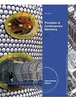 二手書博民逛書店《Contemporary Marketing, International Edition, 16th Edition》 R2Y ISBN:9781285092591