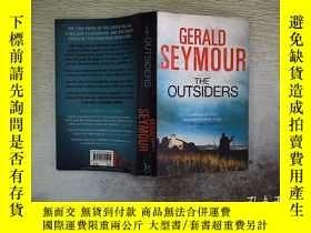 二手書博民逛書店gerald罕見seymour the outsiders ..