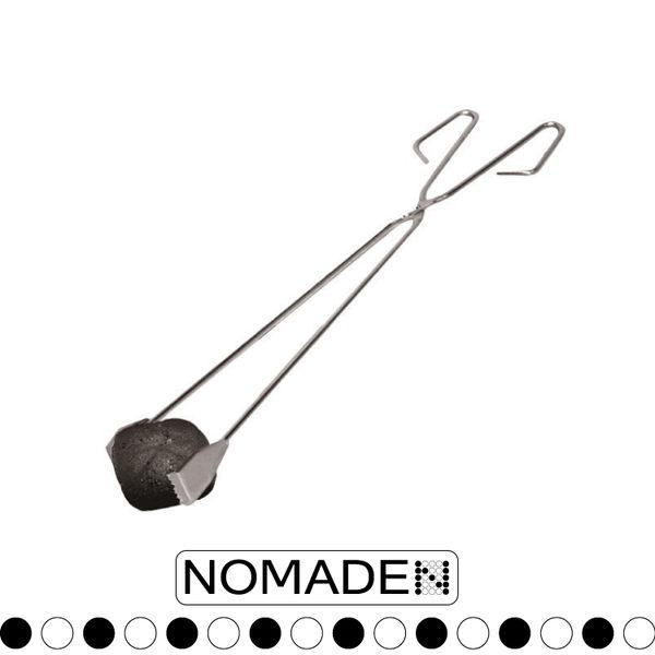 【NOMADE BBQ木炭烤夾】N4606/戶外野餐/野營/烤肉/生火/夾子