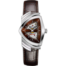 HAMILTON Ventura MIB星際戰警 跨國行動 盾形機械錶-咖啡 H24515591