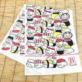 [熊熊eshop]日本 Sirotan 壽司擦手巾