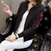 外套女裝新款原宿風棒球服學生早上衣短款小夾克
