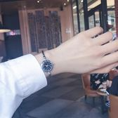 手錶手鐲式女開口中學生正韓簡約創意學院風潮流女生錬條 歐韓時代