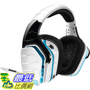 [8美國直購整新品] Logitech G933 耳機 白色 (981-000620) Artemis Spectrum 7.1 Surround Gaming Headset