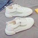 老爹鞋 秋季新款小白布鞋帆布女鞋百搭運動老爹板鞋夏季爆款-Ballet朵朵