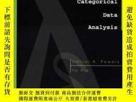 二手書博民逛書店Statistical罕見Methods For Categorical Data AnalysisY3641