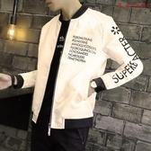 【YPRA】秋季男士夾克外套修身棒球服