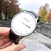 Kenneth Cole國際品牌紳士品味日曆腕錶KC50589011公司貨