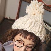 針織毛帽-韓版秋冬潮流保暖女毛線帽8色73ie36[時尚巴黎]