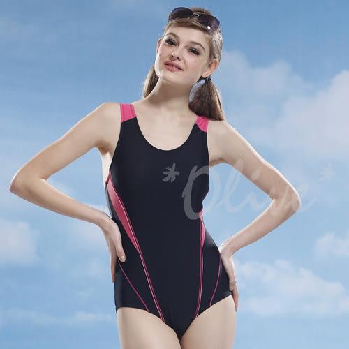 ☆小薇的店☆泳之美品牌【素雅流線款】時尚三角連身泳裝特價750元 NO.2151(M-XL)