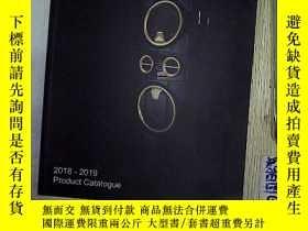 二手書博民逛書店2018-2019罕見Product catalogue.Y20