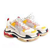 【BALENCIAGA】Triple-S Sneaker 運動鞋/老爹鞋 (女款)(粉/黃) 524038 W09O5 9035