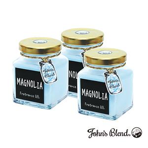 日本John s Blend 擴香膏(135g/瓶)(白玉蘭花)3入