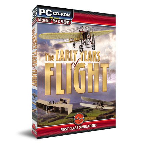 【軟體採Go網】PCGAME-模擬飛行X / 模擬飛行2004-早期飛行機 the early Years of Flight 盒裝完整版