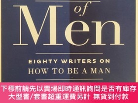 二手書博民逛書店The罕見Book Of Men: 80 writers on HOW TO BE A MAN 英文原版24開 毛