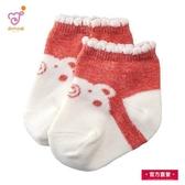 日本製 純綿幼兒襪 紅色