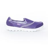 TOP GIRL 健走氣墊休閒鞋-紫色
