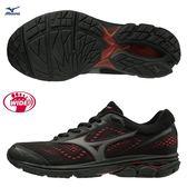 MIZUNO WAVE RIDER 22 SW 男鞋 慢跑 路跑 寬楦 4E 耐磨 避震 透氣 黑【運動世界】J1GL183271