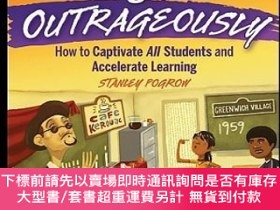 二手書博民逛書店預訂Teaching罕見Content Outrageously: How To Captivate All St