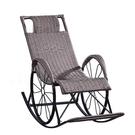躺椅 午休午睡椅陽臺家用休閒椅子沙灘便攜靠椅懶人搖椅靠背椅 【免運快出】