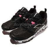 Reebok 慢跑鞋 Hexaffect Run LE 黑 白 粉紅 路跑 女鞋 運動鞋【PUMP306】 AQ9355