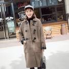 ◆此款有內裡,每年必備牛角扣設計款 ◆顏色 : 淺米杏色、黑色、駝色 ◆尺寸 : M、L、XL