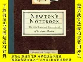 二手書博民逛書店Newton s罕見NotebookY307751 Joel Levy Running Press, 2010