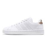 ADIDAS系列-女款 復古ADVANTAGE 白色休閒鞋-NO.F36223