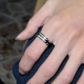 時尚鈦鋼指環個性潮男生飾品配飾情侶戒指 BF600【旅行者】