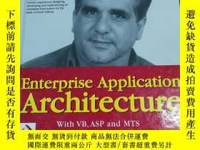 二手書博民逛書店Enterprise罕見Application Architecture with VB, ASP and MTS